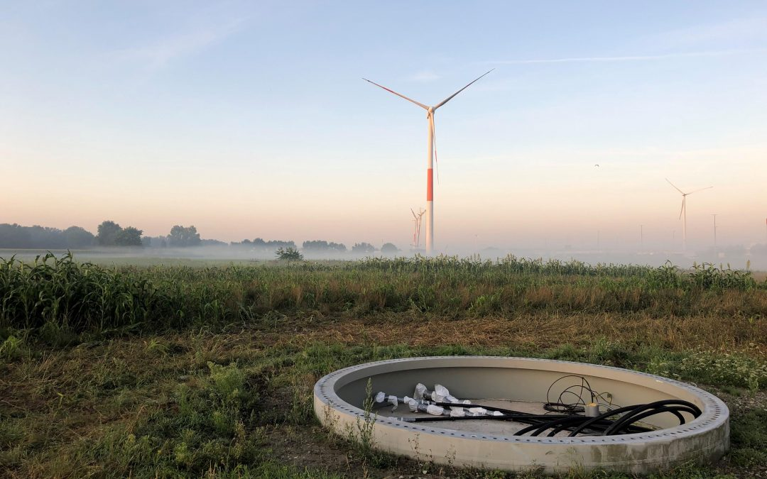 2 of 6 turbines have been dismantled