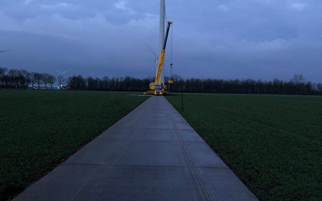 Vestas V52 dismantling