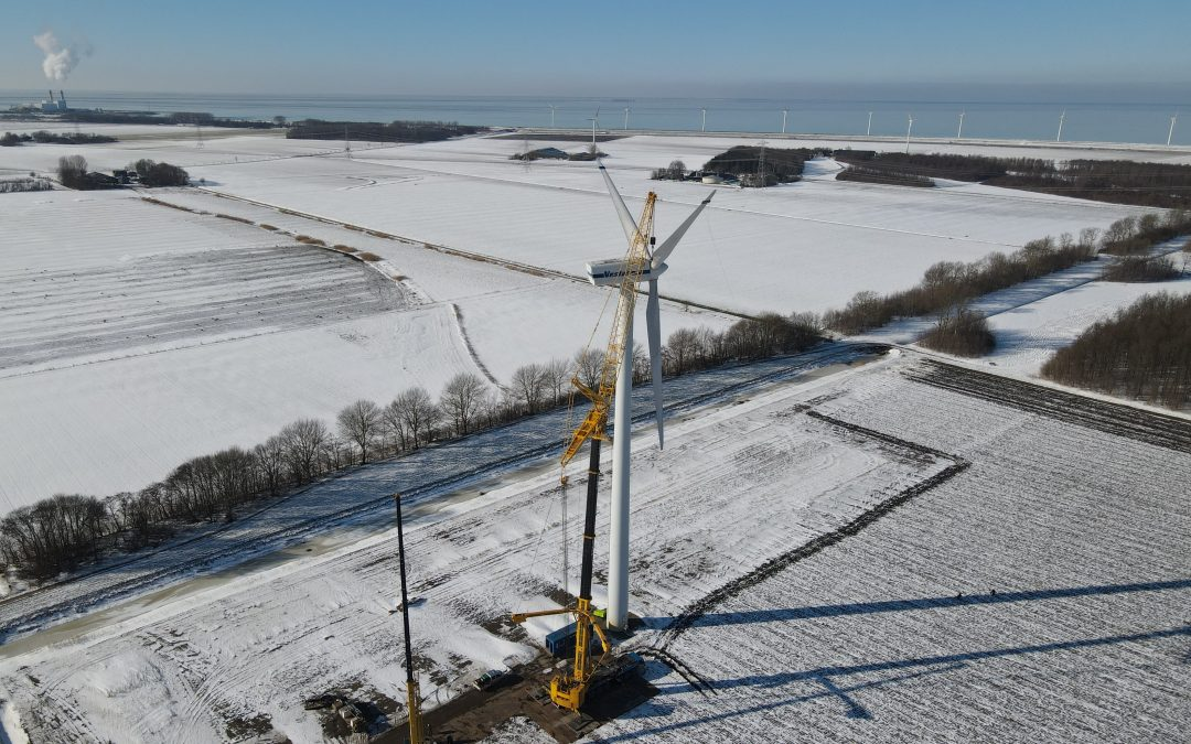 12 wind turbines dismantled in one month