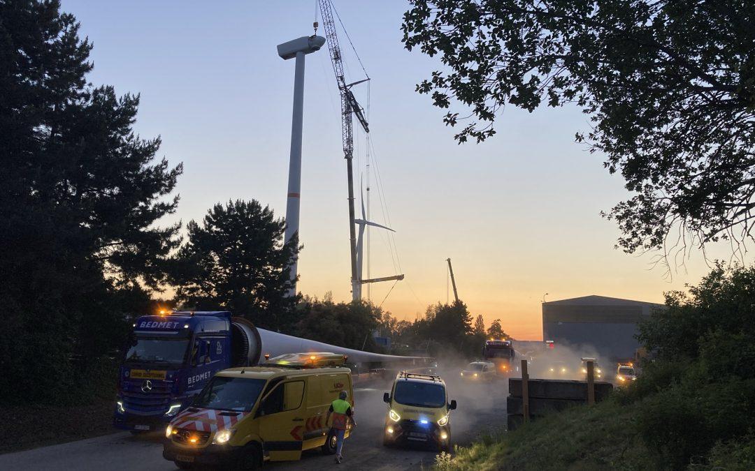 Euronews captured the dismantling